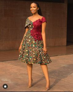 Ankara Splash Of Colors: Style Up Your Next Owambe With These Eye-Popping Ankara Fashion Best African Dresses, African Traditional Dresses, Latest African Fashion Dresses, African Print Dresses, African Print Fashion, Africa Fashion, African Attire, Ankara Fashion, Best African Dress Designs