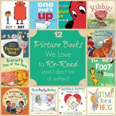 12 picture books we love to re-read (and I don't tire of, either!) - for preschoolers