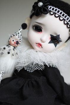 Doll*icious Beauty ❀ :: Modern Clown Pierrot Doll - StarBell by Aya_27
