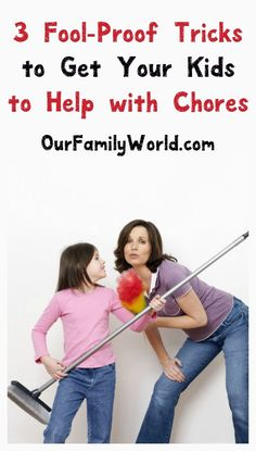 Having a hard time getting your kids to help around the house? Check out these humorous yet oh-so-useful parenting tips for inspiring your kids to do chores!