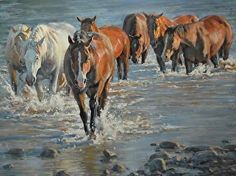 Follow the Leader by Phil Beck in the FASO Daily Art Show