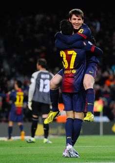 Cristian Tello & Lionel Messi