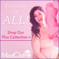 Check out ModCloth's regular and plus size clothing lines! - In Jenn's Bag
