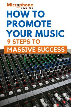 Best ways to promote your music in 2020. Here's how to embrace modern marketing techniques that actually work in 9-pretty simple but effective steps. Learn Singing, Singing Lessons, Music Lessons, Music Math, Recorder Music, Music Songs, Music Hacks, Podcast Ideas, Soul Songs