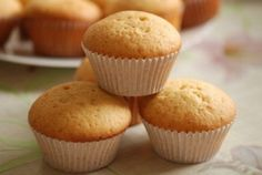 Easy Apple Muffins, Sweet Recipes, Cake Recipes, Cooking Cake, Cupcakes, Sweet Treats, Baking, Breakfast, Desserts