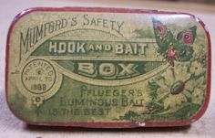Vintage Tackle Contest: The Mumford Bait Tin