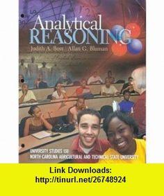 Analytical Reasoning (9780077366452) Judith A. Boss, Allan G. Bluman , ISBN-10: 007736645X  , ISBN-13: 978-0077366452 ,  , tutorials , pdf , ebook , torrent , downloads , rapidshare , filesonic , hotfile , megaupload , fileserve
