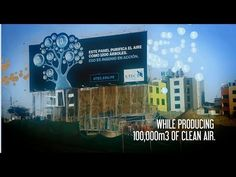 The University of Engineering and Technology: 1200 Trees-like Purifying Billboard