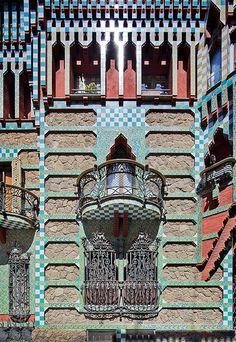Casa Vicens | Barcelona, Spain | Antoni Gaudi