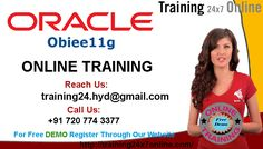 OBIEE 11G Online Training -  Training 24x7 online offers obiee 11g online training and also trainings on oracle by real time Experts. Call for online training demo timings. Call us +91 7207743377 Land Line: 040-42626527 MAIL: training24.hyd@gmail.com Visit : http://www.training24x7online.com/courses/oracle-applications/obiee-online-training.html