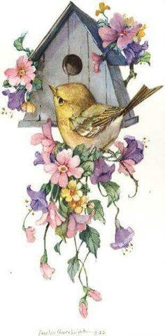 Birdhouse & Bird