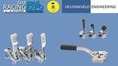 SimRacing Expo 2016  |  Heusinkveld Pedal, Shifter & Handbrake