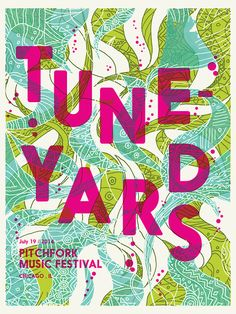 Official tune-yards poster by Catharsis ———————— get your work featured by submitting it to designersof.com click here to advertise with us....