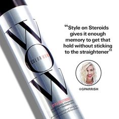 Style on Steroids texture spray is great for giving hair that effortlessly tousled look or to prep hair for all day hold. Never stiff or sticky, this is one of @gparrish favorite quick tricks for getting ready in a flash. #instahair #hair #hairtips #haircare #hairstyles #tousled #tousledhair #tousledwaves #mommyblogger Color Wow, Wow Hair Products, Tousled Hair, Texturizing Spray, Hair Hacks, Hair Care, Wild Hair, Messy Hair, Hair Care Tips