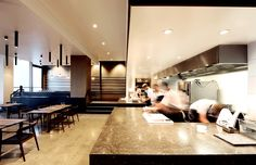 HASSELL | Projects - Esquire Restaurant