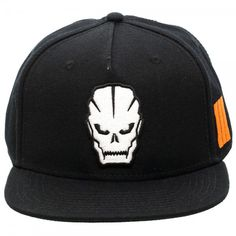 220220a607b Call of Duty Black Ops III Original Snapback Flatbrim Baseball Cap Hat