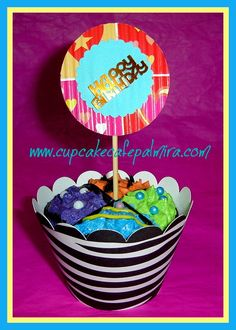 Sicodelic Cupcake