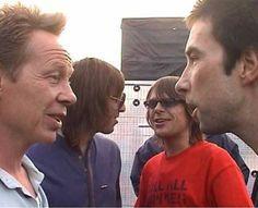 Paul Cook (The Sex Pistols) Liam Gallagher (Oasis & Beady Eye)  Mani (The Stone Roses & Primal Scream) Bobby Gillespie (The Jesus And Mary Chain & Primal Scream)