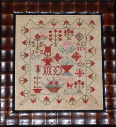 MD's Sampler Cross Stitch Reproduction by LettersGreatandSmall, $9.00