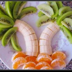 Palm Beach Fruit design... Fun for breakfast on the first day of summer break
