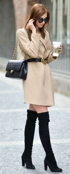 Amazing 26 Glamorous Fall Women Outfits to Copy Right Now . Office Outfits, Winter Outfits, Casual Outfits, Lawyer Fashion, Chanel Boots, Boating Outfit, Short Lace Dress, Stylish Clothes For Women, Classy Women
