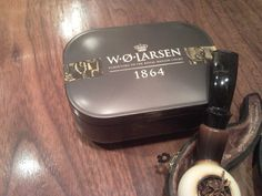 W.O.Larsen 1864 and IMP Meerschaum Pipe