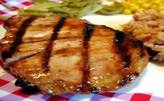 WW Grilled Pork Chops-This is a Weight Watchers 7 PointsPlus+ outdoor grilling recipe.