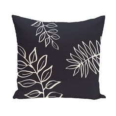 e by design Flower Power Throw Pillow & Reviews | Wayfair