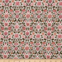 From the world famous Liberty Of London, this exquisite cotton lawn fabric is finely woven, light weight and ultra soft. This gorgeous fabric is oh so perfect for flirty blouses, dresses, lingerie, tunics, tops and more. Colors include dark army green, pink and white.