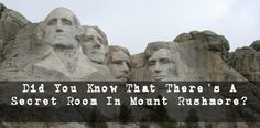 There's a secret room tucked away behind Lincoln's head.