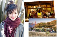 """""""My favorite type of date would include a drive and lunch along the coast, sunset glass of wine at Cavallo Point, and dinner at Zuni Café or Bar Jules."""""""