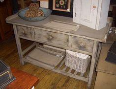 primitive all white kitchens   Pine Sampler Furniture: Primitive Furniture