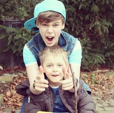 Benjamin Lasnier!!!! an his little brother too cute!! ;p