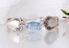 Spoon Bracelet Silverware Jewelry Spoon Jewelry by mcfmiller, $35.00
