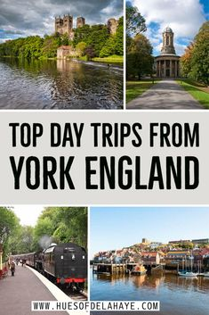 Best day trips from York England, planning a trip from York to the surrounding area. Here are 11 epic day trips from York, including North Yorkshire Moors Railway, hikes in Yorkshire Dales, Haworth, Whitby and North York Moors. Day trip from York UK, north of England, Newby Hall and Castle Howard, York day trip, easy day trip from York, visit from York in a day trip,  #york #yorkshire #northyorkmoors #yorkshiredales