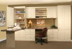 Craft Room Desk - traditional - home office - nashville - More Space Place of Nashville