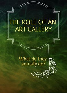 What do Art galleries actually do? Are they still relevant? Do you need one as an artist? Online Gallery, Art Gallery, Cultural Capital, Dutch Golden Age, Dutch Artists, Reading Time, Reading Material, Selling Art, Make Art