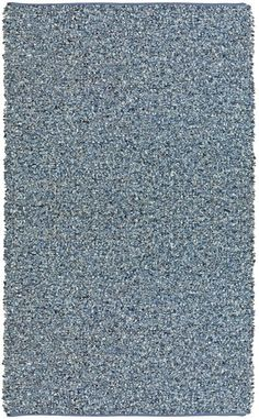 Pelle Hand-Loomed Blue Area Rug