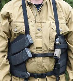 Survival camping tips Tactical Vest, Tactical Clothing, Battle Belt, Duty Gear, Combat Gear, Tac Gear, Chest Rig, Tactical Equipment, Gun Holster