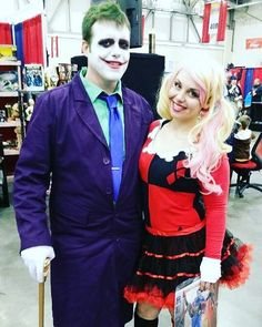 60 diy halloween costume ideas tailored to teens - The Joker And Harley Quinn Halloween Costumes