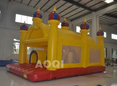inflatable Yellow castle fun city for sale, inflatable Fun City for kids…