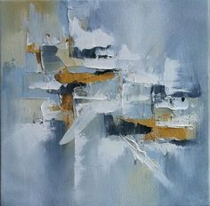 Abstract painting by Blaire Wheeler