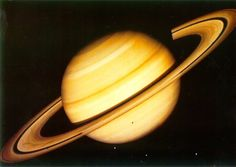 Saturn planet | This image of Saturn was made with pictures from Voyager 2 in 1981.(4 ...
