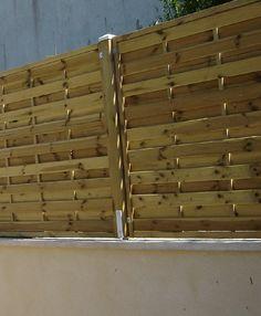 Pare-vue bois Clôture Palissade Muret Paysagiste 60 Oise grillage plantation panneaux rigide grille Gisors Thibivillers Chaumont en Vexin