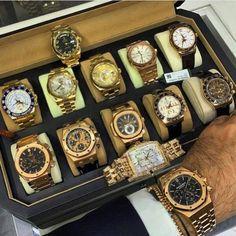 Rolex Yatchmaster II, 2 Day-Dates, SkyMaster, Audemars Piguet Royal Oak, Patek… Dream Watches, Men's Watches, Cool Watches, Fashion Watches, Diamond Watches, Latest Watches, Fine Watches, Men Fashion, Jewelry Watches