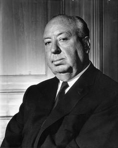 Alfred Hichcock, director de cine.