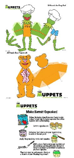 Muppet Crafts