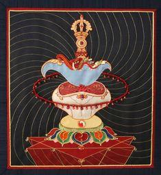 Symbols of Vajrayogini-The Drigug and the skull-cup