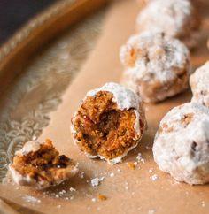 Pumpkin Ball Cookies | FaveHealthyRecipes.com