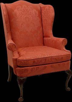 Queen Anne Wingback chair -  Christopher Wren Early Georgian (1695 - 1750)